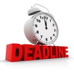 CRNA School Application Deadline